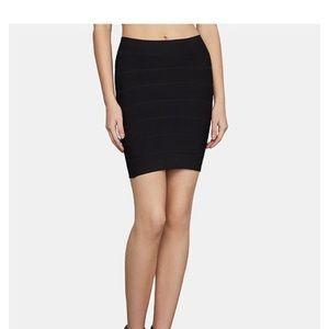 BCBG Black Bandage Skirt Size Medium